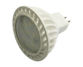 Bombilla LED 12VDC/5W. MR16