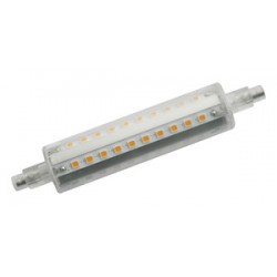 Bombilla LED lineal R7S, 118mm, 230 V, 10W