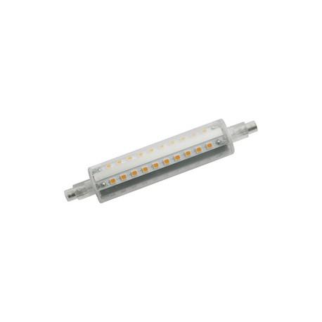 Bombilla LED lineal R7S, 118mm, 230 V, 10W