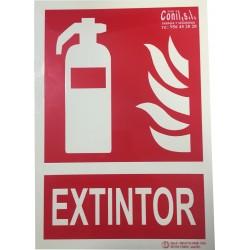 PLACA EXTINTOR (EX01)