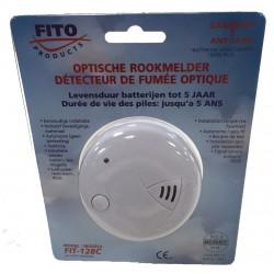 Detector de humos óptico